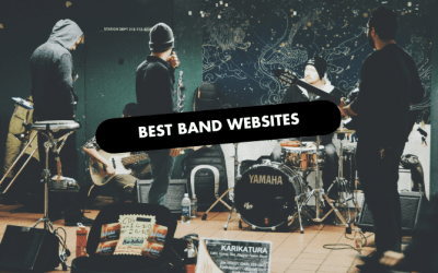 Best Band Websites of 2021 | 10 Inspiring Examples