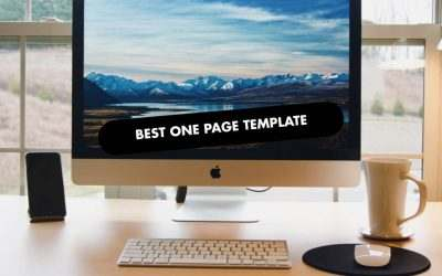 The 20 Best One Page Templates of 2021
