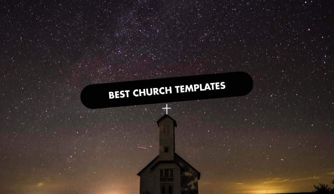 The 20 Best Church Website Templates of 2020