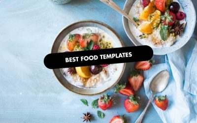 The 20 Best Food Website Templates of 2020