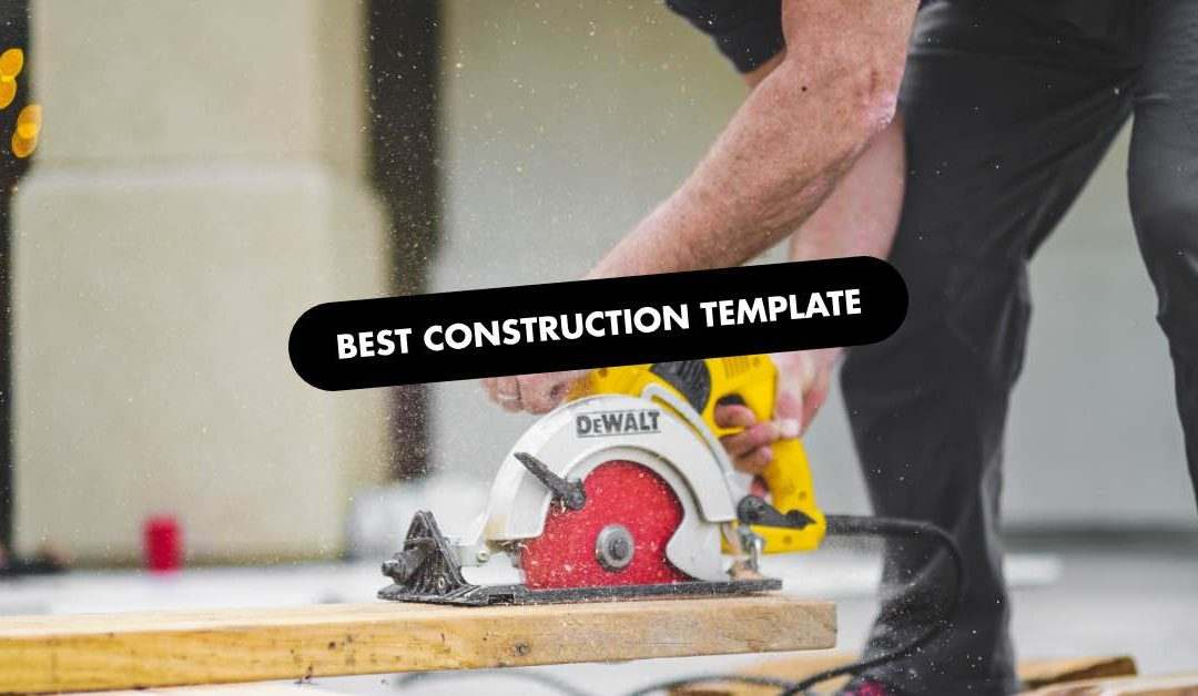 The 20 Best Construction Website Templates of 2020
