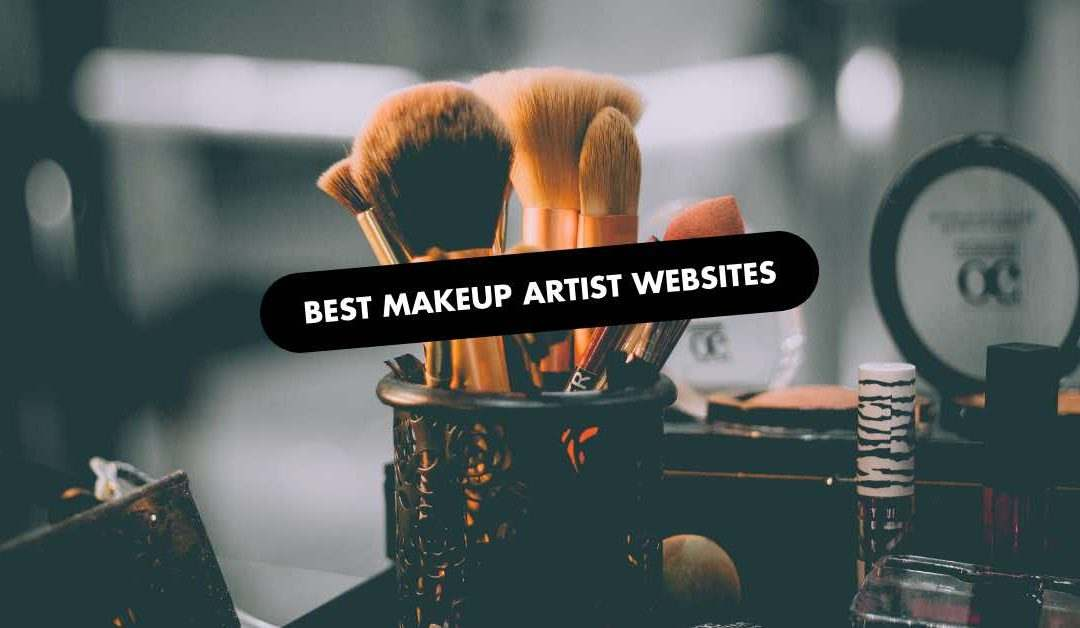 Best Makeup Artist Website Examples