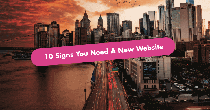 When To Build a New Website