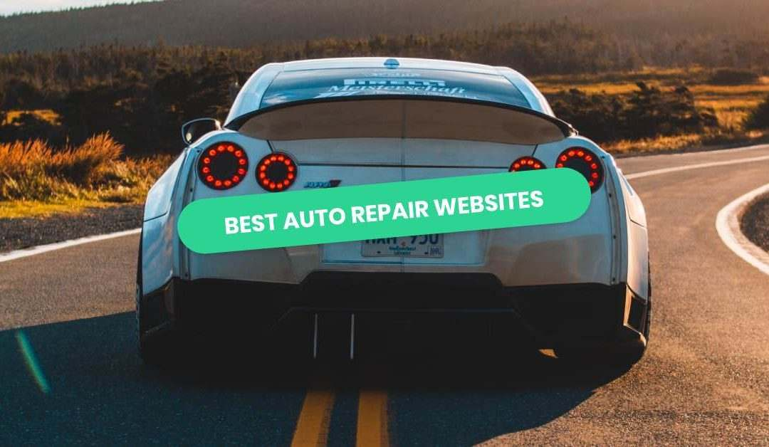 Auto Repair Website Examples