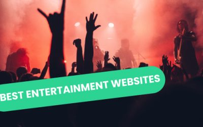 Best Entertainment Websites of 2021 | 28 Mind-blowing Examples