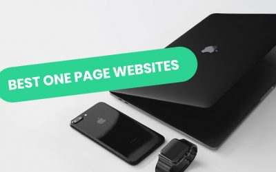 Best One Page Websites of 2021 | 11 Mind-blowing Examples