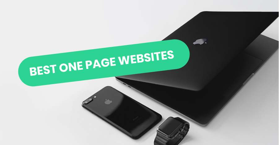 Best One Page Website Examples
